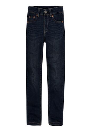 Levi's Kids blue LEVIS Little Boy 512 Slim Taper Fit Jeans 5D32CKAB367434GS_1