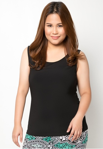 a9a534e4fb9 Shop Curvy Plus Size Molly Sleeveless Top Online on ZALORA Philippines