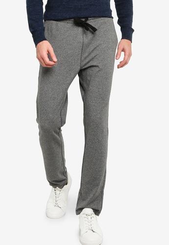 Banana Republic grey Brushed Slub Pants 5C25AAA7941E7FGS_1