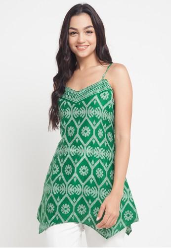 AMARTA NAWA green and multi Blouse Sofie 2E9C4AABB812C9GS 1 54e9637ffe