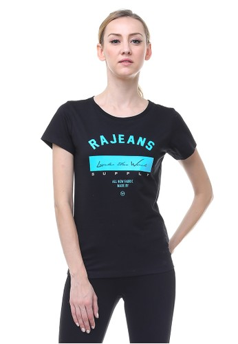 RA Jeans Perry Top Black