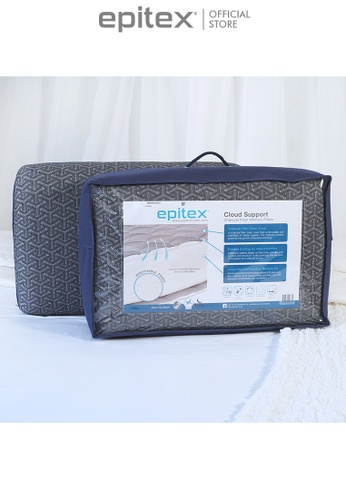 Epitex white Epitex Charcoal Memory Support Classic Pillow 1+1 Promo ( 2 for $69) 937EDHLB74AD56GS_1