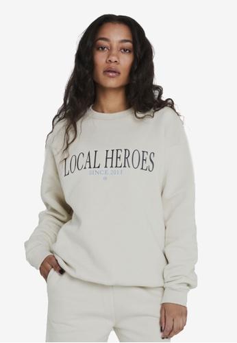 Local Heroes beige LH 2013 Beige Sweatshirt 292CCAAB9BC6E4GS_1