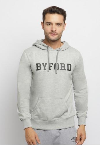 Byford grey Byford Jaket Hoodie 80B29AA06822A6GS_1