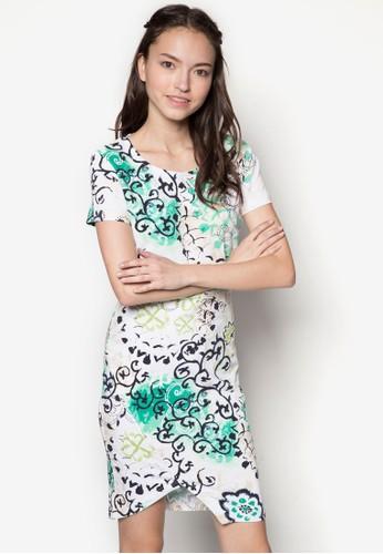 秋天花esprit台北門市卉裹飾洋裝, 服飾, 夏日洋裝