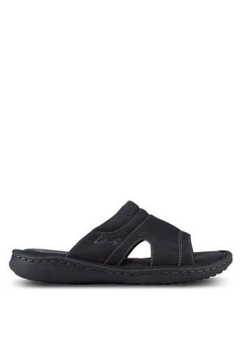 Louis Cuppers black Casual Sandals LO977SH36RCXMY_1