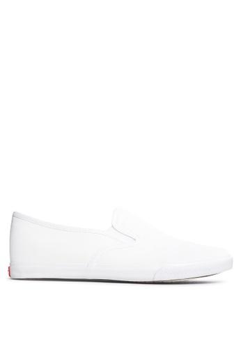 Italianos white Leon Slip On Sneakers IT153SH41SHEPH_1