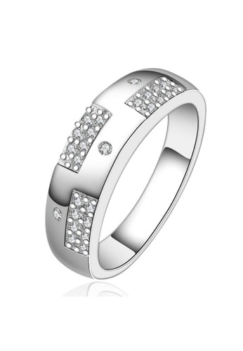 Tiaria white Tiaria Ring Aksesoris Cincin Lapis Silver SPCR617-7--K09 4F03AAC686304EGS_1