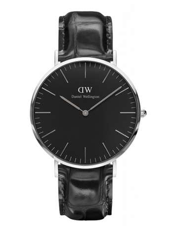 Daniel Wellington black Classic Black Reading Watch 40mm DA376AC80NBNMY_1