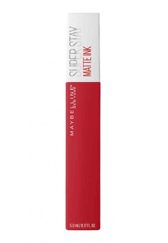Maybelline red Maybelline Superstay Matte Ink Lipstick AMBITIOUS 220 E8EE8BE5AA5579GS_1
