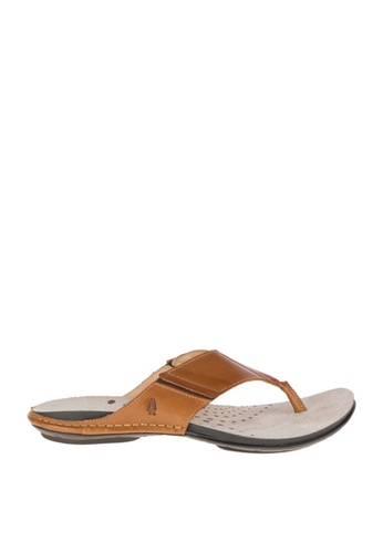 Hush Puppies brown Davi Sandals HU326SH0KNDCPH_1