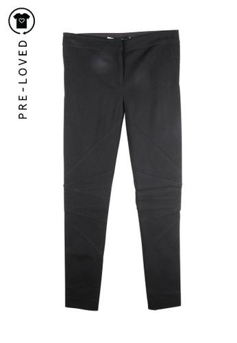 Diane Von Furstenberg black Pre-Loved diane von furstenberg Skinny Cotton Pants CC576AA77FF91AGS_1