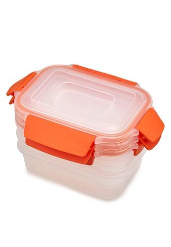 Joseph-Joseph orange Nest Lock 3-Piece Container Set, Orange 92974HLAA639D8GS_1