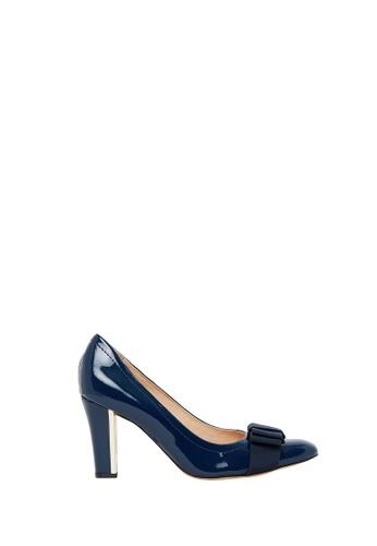 Nina Armando navy Ivy II Patent Leather High Heel NI342SH0FV3VSG_1