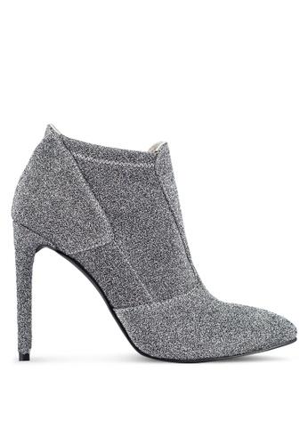 ZALORA silver Glitter Ankle Boots 3B2E0ZZ09EF418GS_1