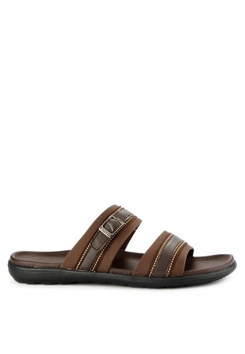 Homyped brown Manta 02 Men Sandals C7243SH5D4E11CGS_1