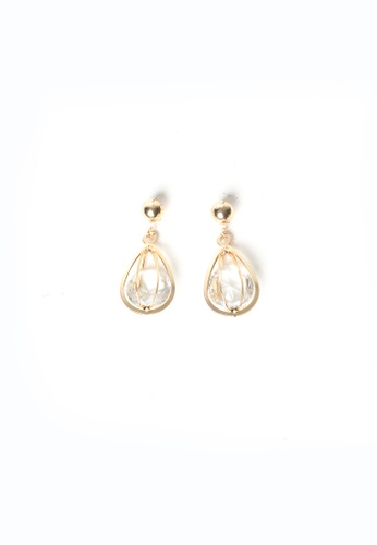 Limkokwing Fashion Club gold Incrediball Earring LI086AC05WAKMY_1