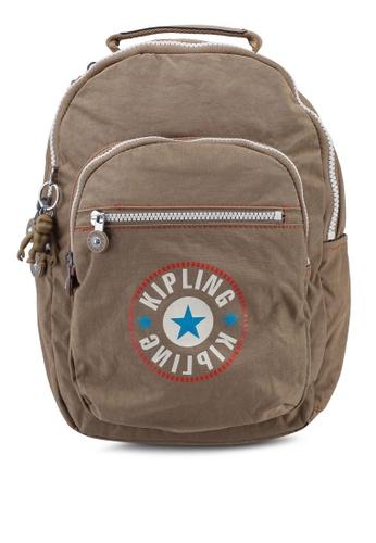 Kipling brown Seoul S Backpack AF914AC5149EFBGS_1