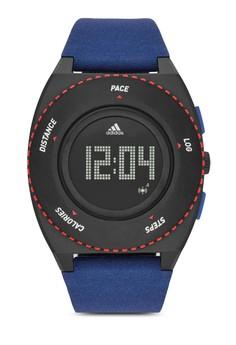 adidas  adidas Sprung Blue and Gray Fabric Watch ADP3274