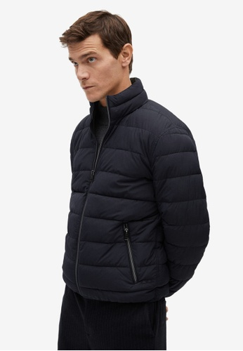Mango Man blue Ultra-Light Quilted Jacket 9C498AAFBD6EE9GS_1