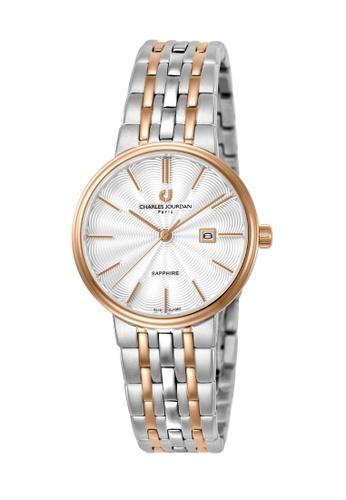 Charles Jourdan silver Charles Jourdan Ladies Watch Elegance Quartz CJ1062-2612 296C6ACE80249EGS_1