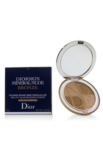 christian dior CHRISTIAN DIOR - Diorskin Mineral Nude Bronze Healthy Glow Bronzing Powder - # 04 Warm Sunrise 10g/0.35oz 3F2D1BE9555F75GS_1