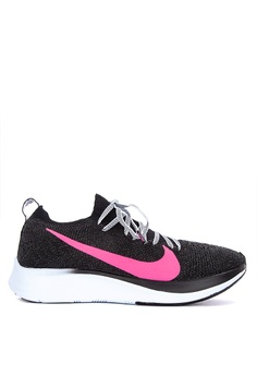 af1cf81d5a8 Nike black and multi Nike Zoom Fly Flyknit Shoes B9E65SH46A870FGS 1
