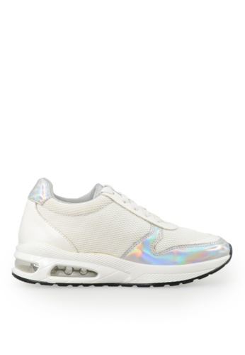 Footspot white FOOTSPOT - Casual Sneakers 8F66FSHE8EF20EGS_1