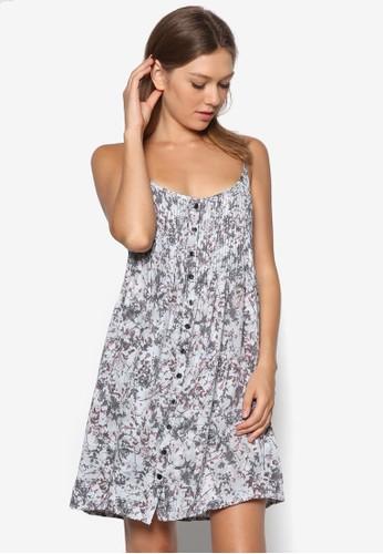 esprit 特賣寬版細肩帶連身裙, 服飾, 洋裝