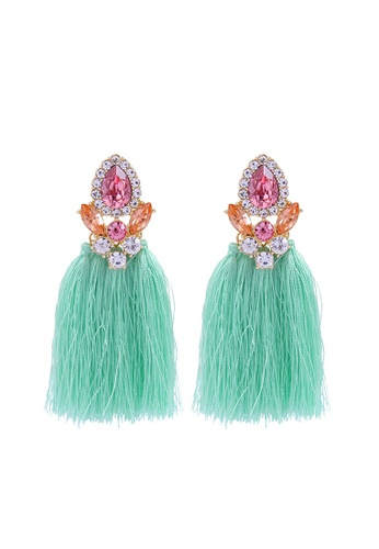 Sunnydaysweety green National Style Suer earrings CA060336 98AC1AC3172462GS_1
