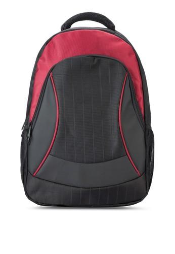 撞色滾邊筆電後背esprit 童裝包, 包, 後背包