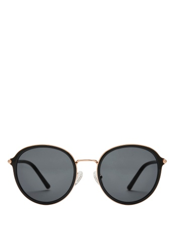 Carin black and gold Ardy C1 Sunglasses 591C5GL8B4F983GS_1