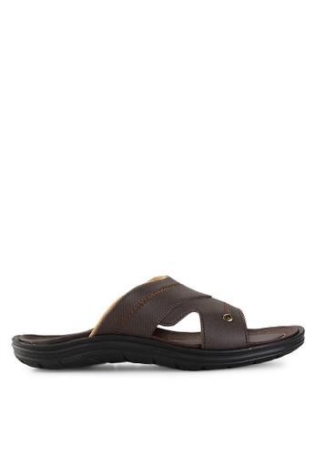 Homyped brown Santana 02 Men Sandals HO842SH17PWSID_1