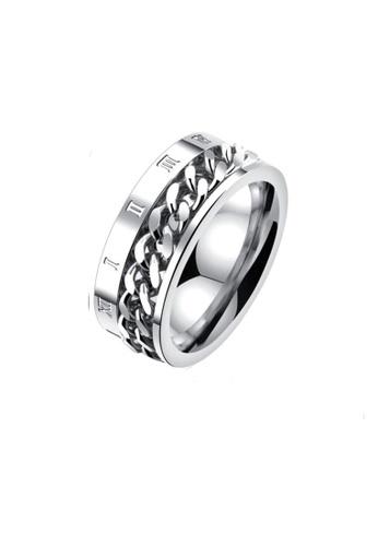 ADORA Stainless Steel Ring AD365AC2VVK1HK_1