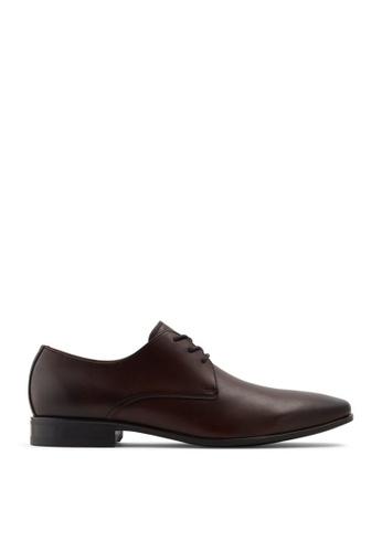 ALDO brown Priswen Lace Ups Shoes A7B5FSHF063E31GS_1