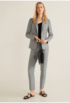 732777d4ec7 Mango Essential Structured Blazer S$ 59.90. Available in several sizes