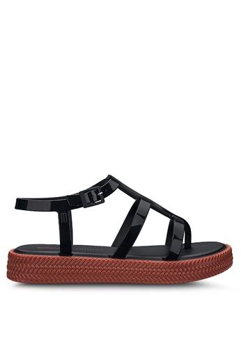 Melissa 多色 編織鞋底平台涼鞋 49F13SHF305A90GS_1