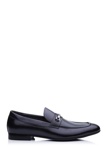 BONIA black Black Casval Loafers 2E170SH43E9E68GS_1
