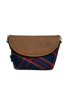 Highland Mini Bleu Mirrorless Camera Travel Cross Bag