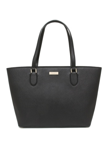 Kate Spade black Kate Spade Laurel Way Small Dally Tote Black WKRU5301 A6C34AC47BF4F4GS_1