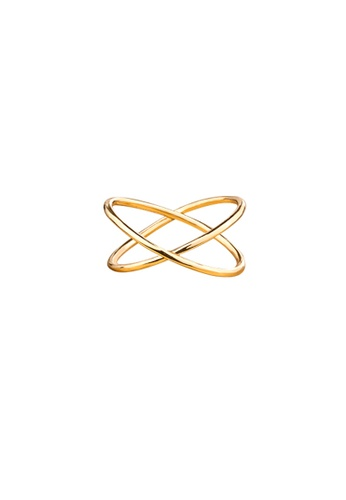Atrireal gold ATRIREAL - Clara Charisma Gold Cross Ring C8D60AC077FCB2GS_1