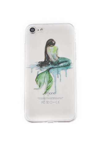 Fancy Cellphone Cases multi Mermaid Soft Transparent Case for iPhone 7 FA644AC77HUWPH_1