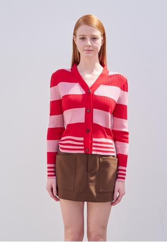 TAV [Korean Designer Brand] Cat Cardigan  -  Pink&Red AAF27AAD75F4FCGS_1