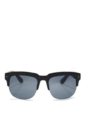 Kaca-kaca black Kaca Kaca Baker Sunglasses KA666AC0S06FMY_1