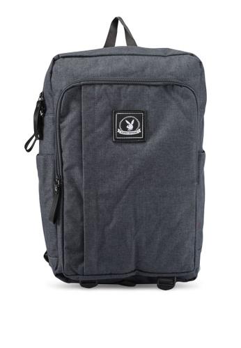 Playboy grey Playboy Casual Backpack PL371AC0SK04MY_1