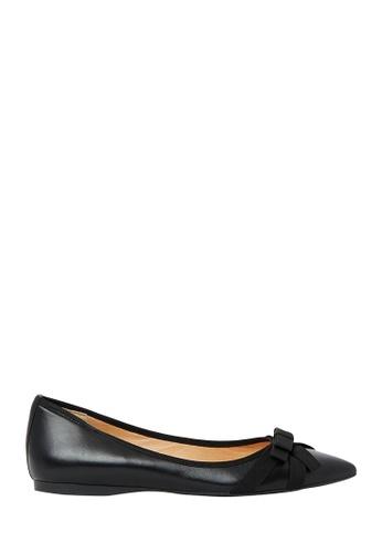 Nina Armando black Dianne Leather Ballet Flats NI342SH0FV8GSG_1