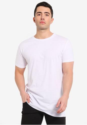 Brave Soul 白色 短袖圓領T恤 63F89AA158B561GS_1