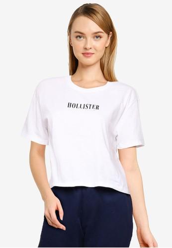 Hollister white Fashion Core Top 8FC3CAA78DE8B4GS_1