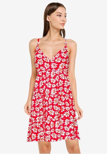 Hollister red Bare Knit Dress DBB02AA6861413GS_1