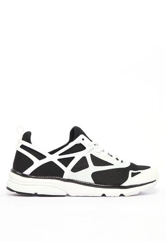 FILA black ARCA UNO Running Shoe DB171SH1424C5BGS_1